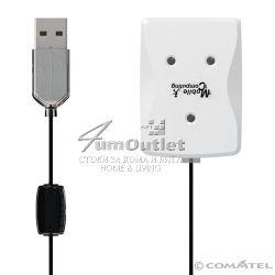 USB 4 Port Hub Хъб (концентратор) за 4 USB устройства