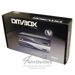 VBox 500V8 Дигитален сателитен приемник с Linux и Ethernet