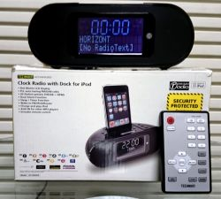 TECHNIKA DAB Дигитален (цифров) радио-часовник с док за iPod