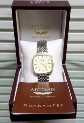ARTEMIS Gents Silver-Gold Bracelet Оригинален мъжки часовник