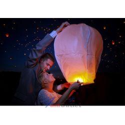 SKY LANTERN Китайски летящ фенер, цветен