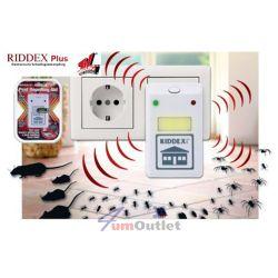 RIDDEX PLUS Уред за защита от мишки, плъхове, хлебарки, паяци, мравки и др.