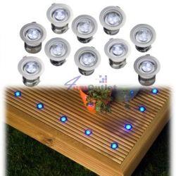 APOLLO LED KIT 10pcs Комплект осветление от 10 бр. LED лампи за вграждане