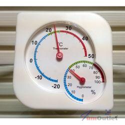 Термометър с хигрометър
