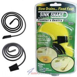 Sink Snake Приспособление за отпушване на мивки и вани