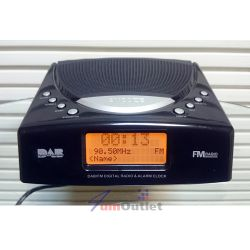 TECHNIKA DAB/FM Clock Radio Дигитален (цифров) радио-часовник