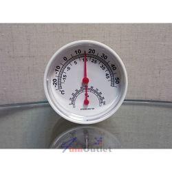 Настолен термометър с хигрометър, кръгъл