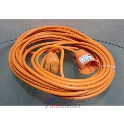 Удължител, токов, трижилен, оранжев, 5м