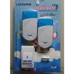 LUCKARM 150m Wireless Door Bell Безжичен звънец за врата, 1 към 2