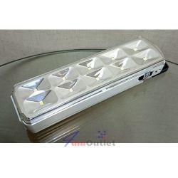 Аварийна акумулаторна светодиодна (10 SMD диода) лампа