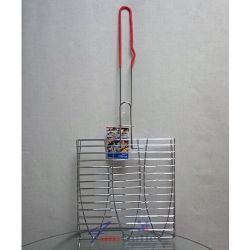 Скара за риба, тройна, 275х285 мм