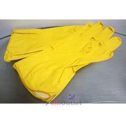 Ръкавици, домакински, латекс, размер XL