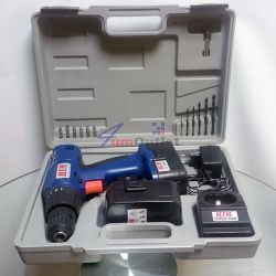 Бормашина (дрелка) акумулаторна 12V, 2 батерии, ROTHER