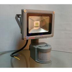 PIR LED SMD 10W Прожектор със сензори за движение и осветеност