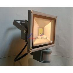 PIR LED SMD 20W Прожектор със сензори за движение и осветеност