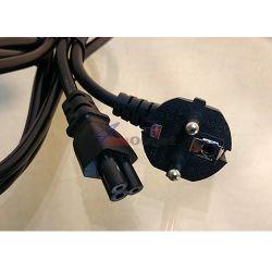Захранващ 220V кабел за адаптери и лаптопи (мики маус)