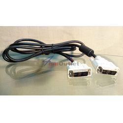 OEM Кабел за монитор DVI-DVI, 1.5м, с феритни пръстени