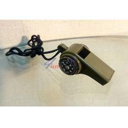 Свирка с топче, компас и термометър