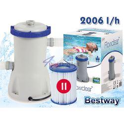 FLOWCLEAR Помпа за басейни, електрическа, филтърна, 530gal