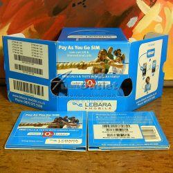 LEBARA MOBILE: Предплатена SIM-карта с номер за GSM