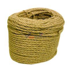 Въже, конопено, ф6 мм, 50 м